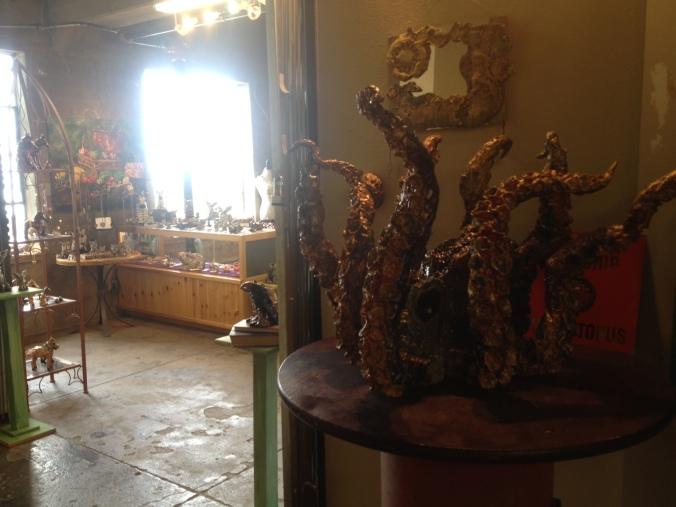 Art gallery in Jerome, Arizona