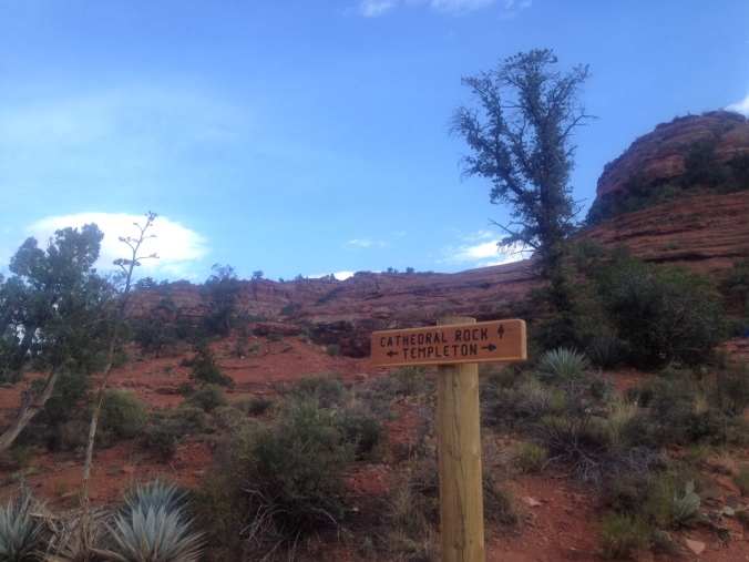 Cathedral Rock trailhead