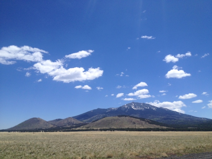 Driving to Grand Canyon National Park from Flagstaff