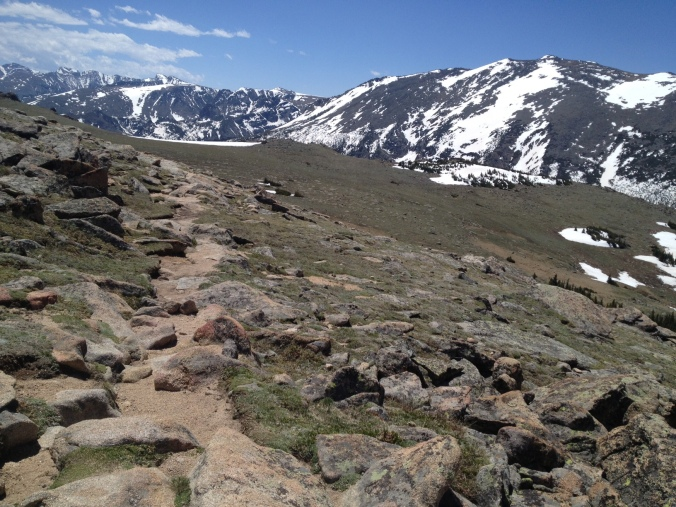 Ute Trail in Rocky Mountain National Park