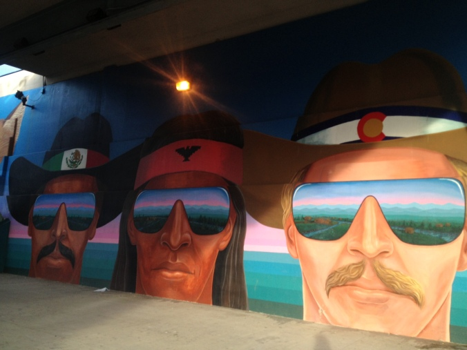 Mural in Denver, Colorado