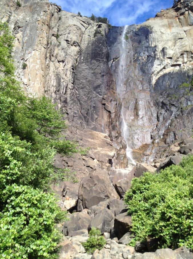 Bridalveil Fall in Yosemite National Park