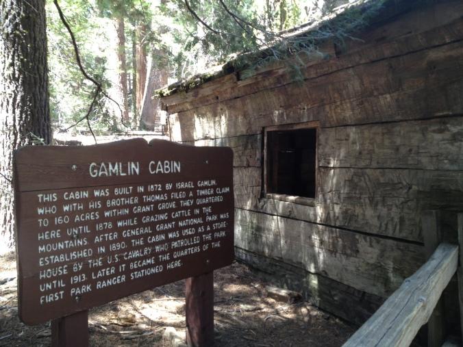 Gamlin Cabin in Kings Canyon National Park