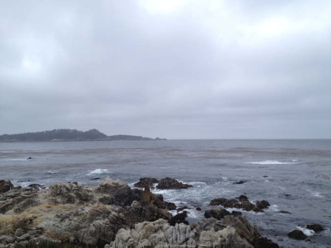 Carmel-by-the-Sea, California and the Pacific Ocean