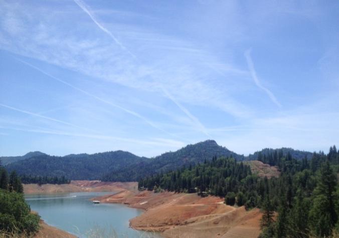 Lake Shasta in Northern California