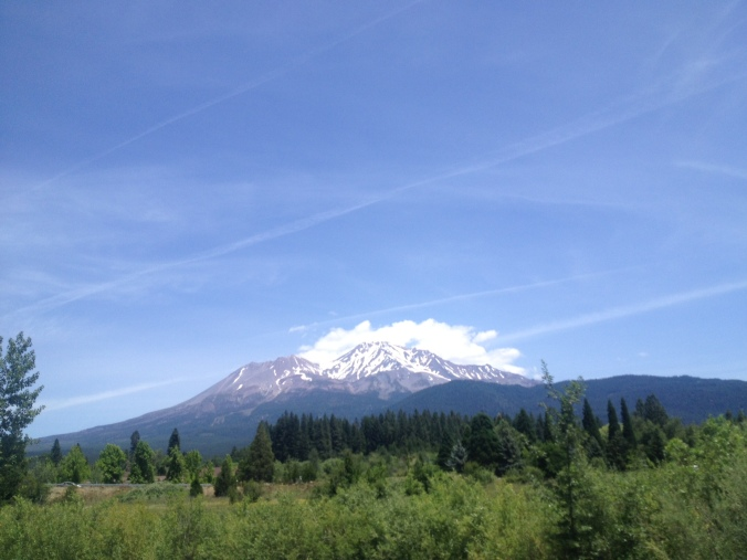 Mt. Shasta in Northern California